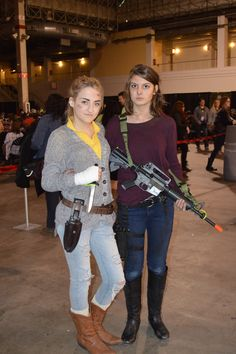 Maggie and Beth cosplay #WSCChicago