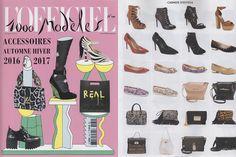 Em uma edição especial, a revista #L'Officiel francesa fez um editorial completo com acessórios #CarmenSteffens. As dicas incríveis de moda colocaram em destaque os sapatos e bolsas que são hits do outono-inverno 2016 europeu.  #BohoChic  #Gothic