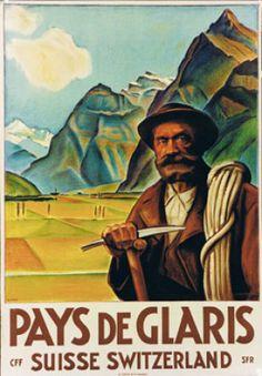 Carl Boeckli 1920 Pays de Glaris, Suisse Switzerland