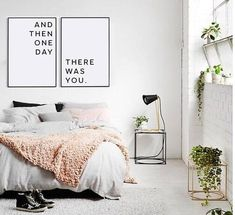 Master bedroom wall decor Printable wall art Above bed art Printable love quote Affiche scandinave And then one day there was you Minimalist Bedroom, Minimalist Decor, Minimalist Fireplace, Minimalist Living, Modern Minimalist, Home Decor Bedroom, Bedroom Ideas, Diy Bedroom, Bedroom Headboards
