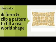 Illustrator - Apply a Pattern to a Real World Object - Working with Repeating Patterns - YouTube