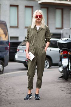 The best street style spotted at Day 1 of Milan Fashion Week: