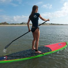 Fun! Stand-up Paddle Boarding