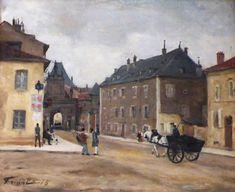 Η πύλη του Αγίου Γεωργίου (1878) Μουσείο στο Παλάτι των Δουκών της Λορένης