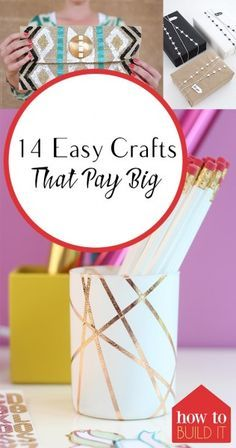 Easy Crafts Easy Crafts to Sell Craft Projects Easy Craft Projects Inexpensive Craft Projects Cheap Craft Projects Crafts for Kids Craft Projects for Kids Popular Pin Money Making Crafts, Easy Crafts To Sell, Diy Projects To Sell, Craft Projects For Kids, Fun Crafts, Sell Diy, Sewing Projects, Craft Ideas, Wood Crafts