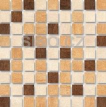 Mozaika Mistica hnědá 30x30 cm, mat Kitchen, Cuisine, Kitchens, Stove, Cucina