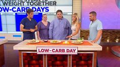 Chris Powell Explains the Couples Plan to Lose Weight: Alternate your diet between high-carb and low-carb days to slim down fast.