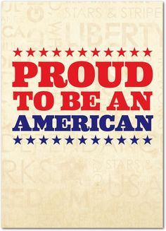American Pride - Military Greeting Cards from Treat.com