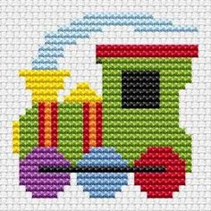 Sew Simple Train cross stitch kit