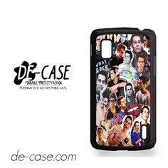 Dylan O'brien Photo Collage For Google Nexus 4 Case Phone Case Gift Present YO