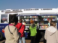 The Gauteng (South Africa) Department of Education mobile library.