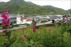 Downtown Unalaska - The Heart of the Aleutian Islands