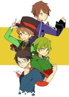 平和組 Avatar, Chibi, Anime, Japan, Manga, My Favorite Things, Fictional Characters, Otaku, Boys