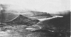 Great Sheffield Flood (1196×632) Photograph of the Dale Dyke reservoir embankment, shortly after its collapse in March 1864