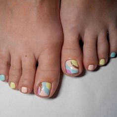 Best Toe Nail Art Ideas for Summer 2018 Abstracted Toe Nail Designs picture French Pedicure Designs, Toe Nail Designs, Beautiful Nail Designs, Art Designs, Pink Pedicure, Manicure Y Pedicure, Pedicure Ideas, Pedicures, Toe Nail Art