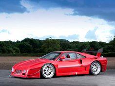 Ferrari 288 GTO Evoluzione. I my opinion, one of the most badass Ferraris ever…