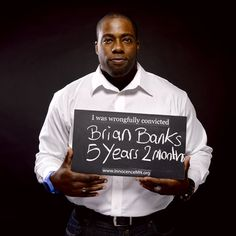 Brian Banks was on the fast track to the NFL when he was wrongfully accused and convicted of rape. Later the woman who accused him admitted that she had made it all up, after he had spent 5 years in jail. Now Brian is free and spreading the word about the Innocence Project!