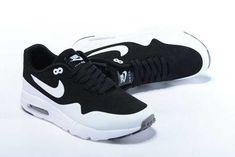 Nike Air Max 1 Ultra Moire Mens Black White