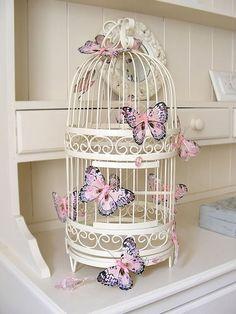 My Little Treasures: Deco: Jaulas decorativas/ Deco: decorative Cages.