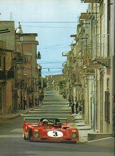 Targa florio 1973 - (Dernière grande) - Nino Vaccarella - Ferrari 312-P-L'Année Automobile 1979/1980