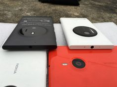 Microsoft McLaren: The annulled smartphone posing next to the Lumia 1020