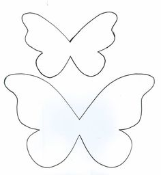 Butterfly template for applique pillow, for Payton's bed. Butterfly Party, Butterfly Birthday, Butterfly Crafts, Felt Crafts, Diy And Crafts, Crafts For Kids, Arts And Crafts, Paper Crafts, Butterfly Template