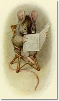 Happenings in the Animal World, the Daily News by Beatrix Potter