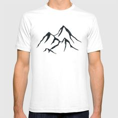 Follow the link to view this product on society6.com! @society6 #tshirt #shirt #tee #clothes #clothing #fashion #style #products #buy #buyart #shop #shopping #sale #mensfashion #womensfashion #fashionista #fashionblogger #illustration #drawing #mountain #mountains #black #ink #simple #minimal #minimalism