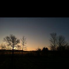 Sunrise @ my house