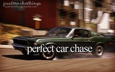 Perfect Car Chase | Photo from Bullitt (1968)