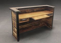 Best Reclaimed Wood Desk