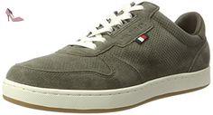 Tommy Hilfiger H2285oxton 2b, Sneaker Basses Homme, Vert (Dusty Olive 011), 40 EU - Chaussures tommy hilfiger (*Partner-Link)