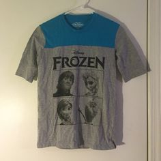 Frozen t-shirt Worn many times but in great condition, DISNEY BRAND Disney Tops Tees - Short Sleeve