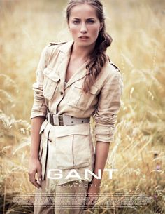 Photographer Kalle Gustafsson for Gant Collection -- love the photo and the look.