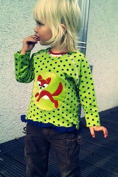 Bethioua Mini free sewing pattern raglan sleeve shirt