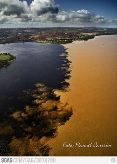 Caroni and Orinoco river. Guayana City - Venezuela. My city <3