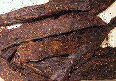 BILTONG - Recipe 3   Serves 30 5 pounds venison 4 ounces Salt 1 ounces Mixed Spices 1/4 tablespoon Chilli peppers 1 teaspoon Cracked Black Pepper, Optional 1 ounce Prague Powder No 2.