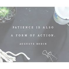 This is a hard one for me. When I have an idea, I want to JUMP into action. But there are times when life will slow me down or distract me, and it's soooo frustrating! But sometimes, after it's all said and done, I realize that the things that slowed me d