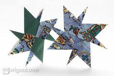 DIY Origami: DIY origami star navigator