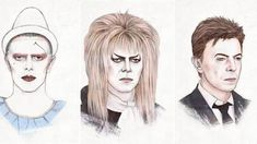 Helen Green has released an amazing GIF of 29 illustrations that show David Bowie's career from 1964 to 2014