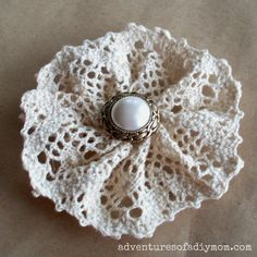 How to Make a Lace Flower