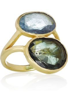 Pippa Small | 18-karat gold tourmaline ring