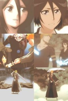 Both times Rukia has given Ichigo Soul Reaper powers Ichigo E Rukia, Bleach Rukia, Bleach Fanart, Bleach Manga, Shinigami, Otp, Bleach Couples, Eren E Levi, Pokemon