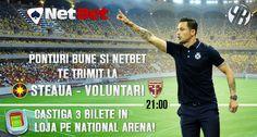 Hai la Steaua - Voluntari, oferim bilete gratuite - Ponturi Bune