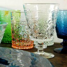 [Envelope Online Shop]Pressed glass cups