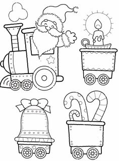 79 Best Christmas coloring pages 1 images in 2019