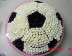 soccer ball oreo cheese cake