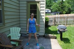 FBG Jenn shares a workout she did in her backyard on a Saturday afternoon: Low-Impact Tabata! Short Workouts, Tabata Workouts, Cardio, Body Workouts, Low Impact Hiit, Chiropractic Wellness, Boxing Workout, Fitness Motivation, Fitness Fun