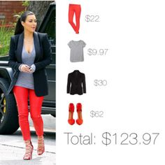 Kim Kardashian Look For Less