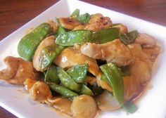 INGREDIENTS 4 -6 ounces snow peas 0.5 (4 ounce) cans sliced water chestnuts, cut into quarters 1 lb chicken breast, cut into bite-sized pieces 1/2 teaspoon salt 1 tablespoon cornstarch 2 tablespoon…